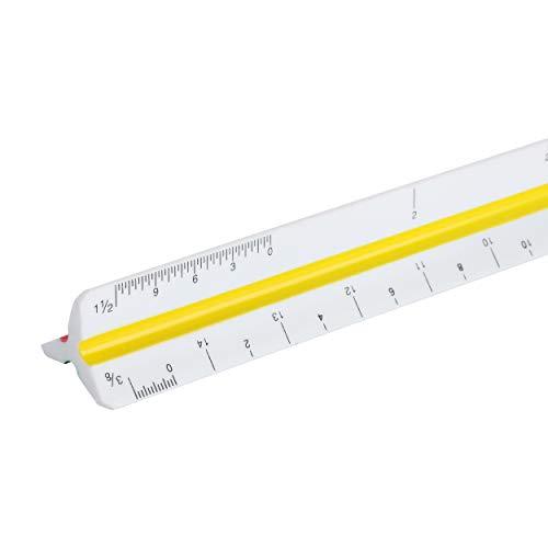 """Mr. Pen Architectural Scale Ruler, 12"""" Plastic Architect Scale Photo #3"""