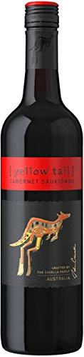 Yellow Tail Cabernet Sauvignon – Halbtrockener Rotwein aus Australien (1 x 0,75l)