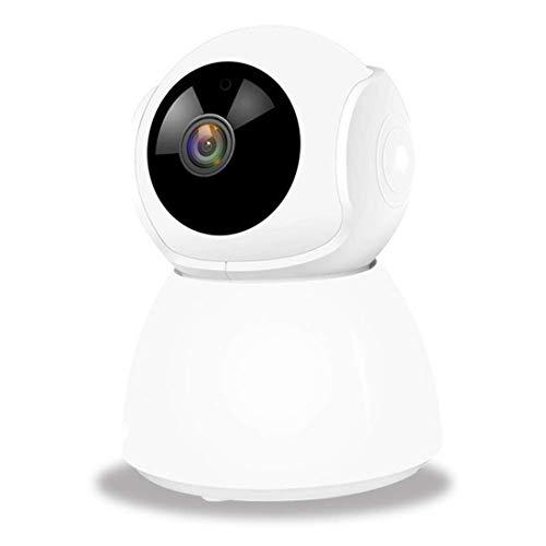 1080p HD Smart monitor, draadloze 360 graden indoor WLAN-camera met smart tracking, bewegingsdetectiealarm, nachtzicht, 2-weg audio, PTZ rotatiewolken live video voor baby/oudertests/huisdier