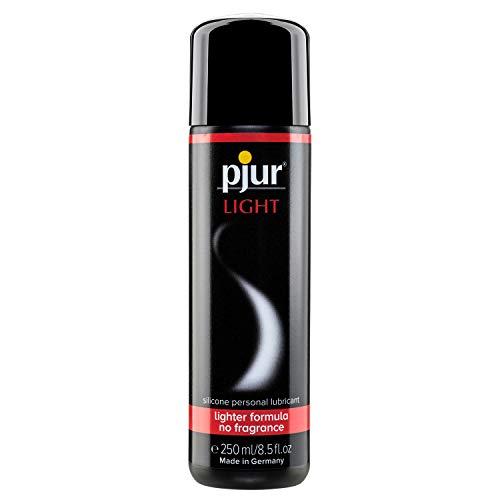 pjur LIGHT - Gleit- & Massagegel auf Silikonbasis - leichte Formulierung für extra lange Gleitfähigkeit und mehr Spaß beim Sex (250ml)