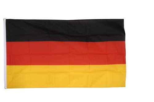 Flaggenfritze® Fahne Flagge Deutschland 90 x 150 cm Premiumqualität