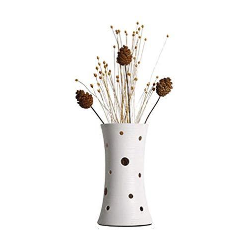 Lampara Mesilla de Noche Lámpara de mesa dormitorio mesita de noche lámpara luz de noche con flores artificiales y decoración de cono de pino adecuado para sala de estar mesa de noche de dormitorio Lá