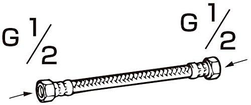 『LIXIL(リクシル) INAX シャワートイレ用付属部品 ロータンクフレキホース 350mm CWA-24C』の1枚目の画像
