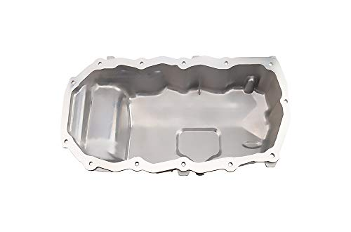Engine Oil Pan L4 2.4L Compatible with 01-06 SEBRING / 00-03 VOYAGER - DODGE 98-07 CARAVAN / 98-06 STRATUS - 98-00 VOYAGER replace 4694525AA 4694525AB 4694525AC 4884476AB CRP46A