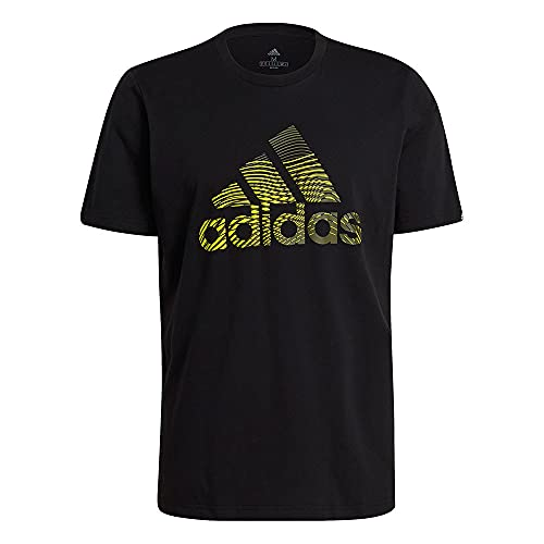 adidas M Extmo Pff T T-Shirt für Herren, Herren, Unterhemd, GL2399, Schwarz, XS