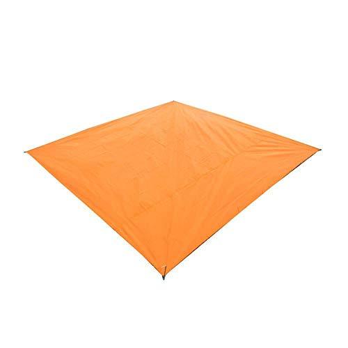 N/ Picnic Mat Tarpaulin Air Cushion Waterproof Outdoor Beach Camping Mat Tarpaulin Bay Play Carpet Lattice Blanket-Orange_210X150Cm