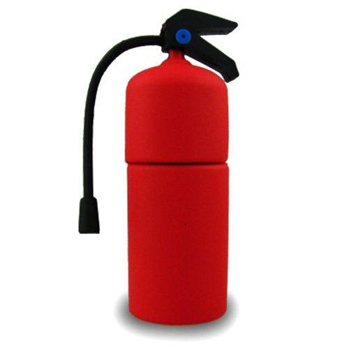 818-Shop No13700050064 USB-Sticks (64 GB) Feuerlöscher Feuerwehr 3D rot