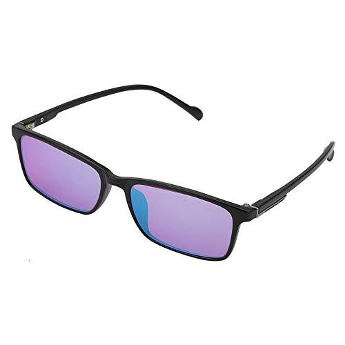 JJCFM Farbenblindheit Gläser, Formatfüllend Rot Grün Color Blind Korrektive HD Brille Frauen Männer Colorblind Führerschein Brillen