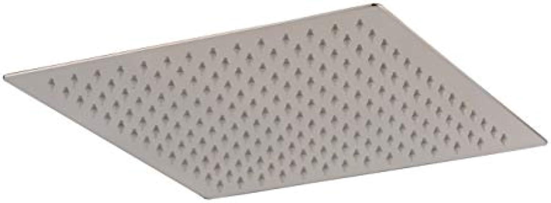 Hiendure 40cm Ultra dünn Rostfreier Stahl Regen Duschkopf Platz Duschkopf , Gebürstetes Nickel