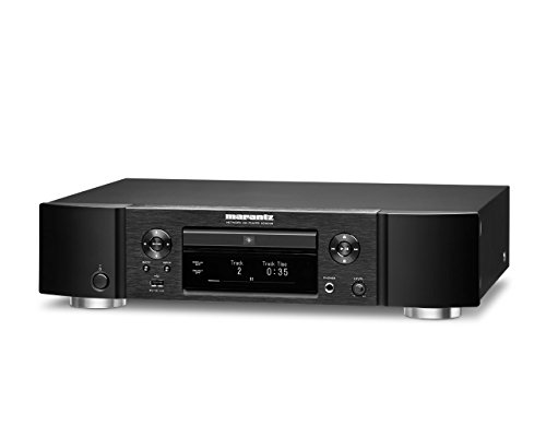 Marantz ND8006 Low-Profile 4-in-1 Digital Media Player: CD Player, Music Streamer, DAC and Pre-amp | with Airplay 2, Bluetooth and HEOS | Amazon Alexa Compatibility