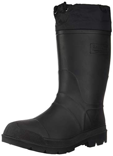 Kamik Men's Hunter Snow Boot, Black, 10 M US