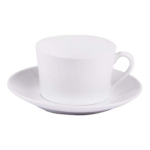 Table Passion - petit dejeuner 39 cl porcelaine blanche (lot de 6)