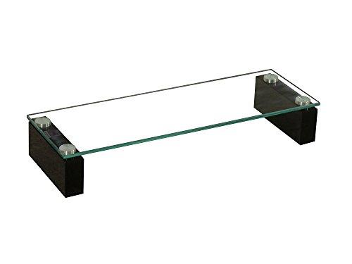 BHP BEST HOME PRODUCTS BHP TV-rek met gehard glas plateau/MDF hoogglans zwart 60cm B153147-4