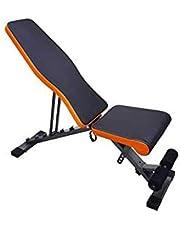 SkyLand EM-1853 Multi-function Adjustable Weight Bench For Unisex Adult - Black
