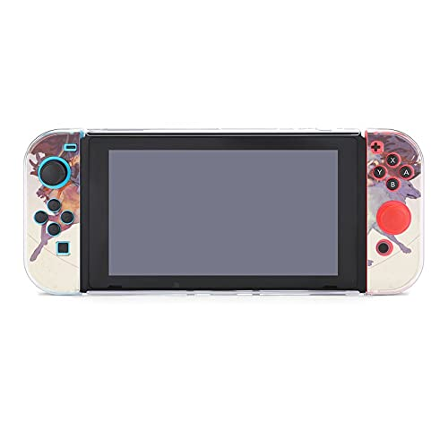 Free brand Ghibli Protective Case Cover for Nintendo Switch, Compatible with Nintendo Switch Console and Joy-Con Controller (Split Five-Piece Switch Game Console Protective Shell)