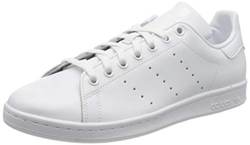 adidas Originals Stan Smith S75104, Herren Low-Top Sneaker, Weiß (Ftwr White/Ftwr White/Ftwr White), 42 2/3EU
