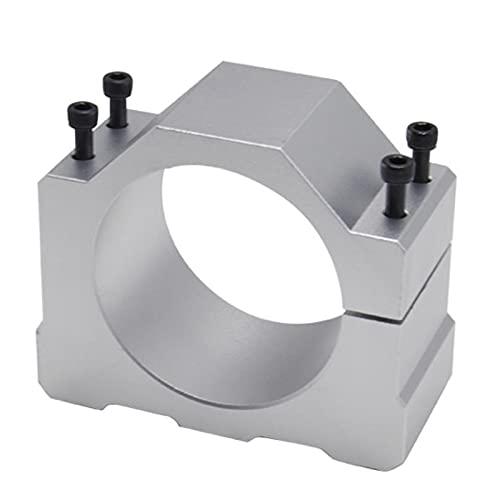 Milkvetch Motore per Fresatrice CNC Mandrino 1 Pz con 4 Viti Staffa di Montaggio Morsetto Mandrino 65Mm