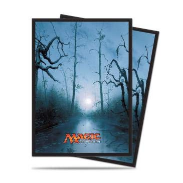 Ultra Pro - Mana 5 Swamp Standard Deck Protector Sleeves for Magic 80ct, Color sumpf (E-86456)