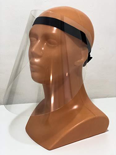 Visera Protectora para la Cara, protección máscara Facial Visera, máscara Protectora, máscara Industrial, máscara de Tienda, protección de Ojos, (1 Pack)