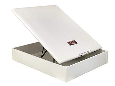 Canapé Abatible Pikolin 3D Madera - Blanco, 150x190cm