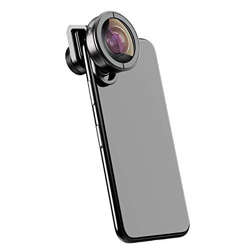 LJJOO De Alta definición del teléfono móvil Lente Exterior, de 170 ° Súper Lente Gran Angular, Teniendo Scenery Travel Fotos Webcams y telefonía VoIP