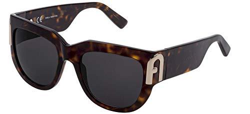 Furla Gafas de Sol SFU416 Dark Havana/Grey 54/20/140 mujer