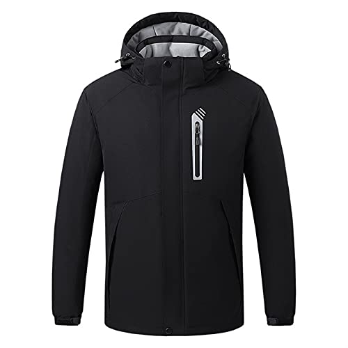 joyvio Podgrzewana bluza z kapturem dla kobiet, mężczyzn, bluza termiczna USB do ładowania, długi rękaw, 3 poziomy ogrzewania, oddychająca, miękka podgrzewana kurtka na zimowy kemping, wędkarstwo