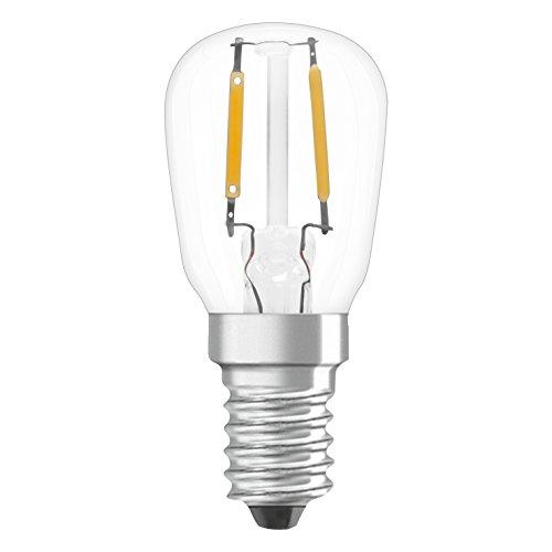 Osram LED Star Special T26 Lampe, mit E14-Sockel, nicht dimmbar, Ersetzt 10 Watt, Filamentstil Matt, Warmweiß - 2700 Kelvin, 9er-Pack