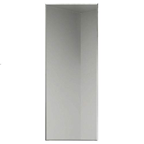 Aica Sanitär Faccettenspiegel N2 Serie, 120×60 cm, 5 mm stark, Garderobenspiegel Wandspiegel Badspiegel Kristallspiegel