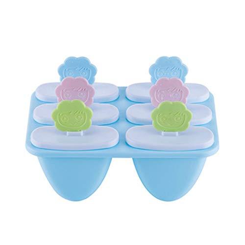 Ijs Lolly & Ijs Mallen Ijs Pop Mallen Voor Babyvoeding Voor Vriezer Zomer Gift Food-Grade Cool blue
