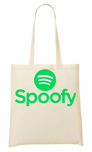 BakoIsland Spoofy Logo Parody Funny Tragetasche Einkaufstasche