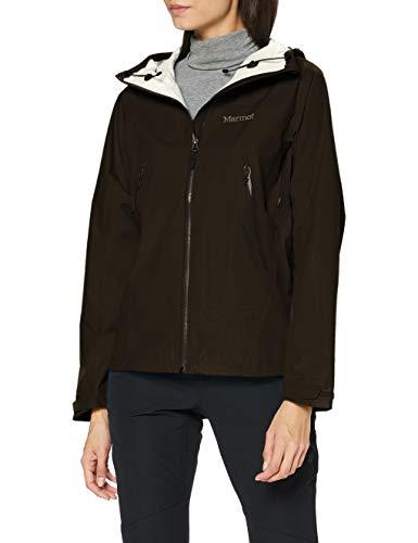 Marmot Wm s Eclipse Jacket Giacca Antipioggia Rigida, Impermeabile Leggero, Antivento, Impermeabile, Traspirante, Donna, Black, M