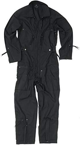 Mil-Tec BW Pilot Suit Olive New - Black, 56