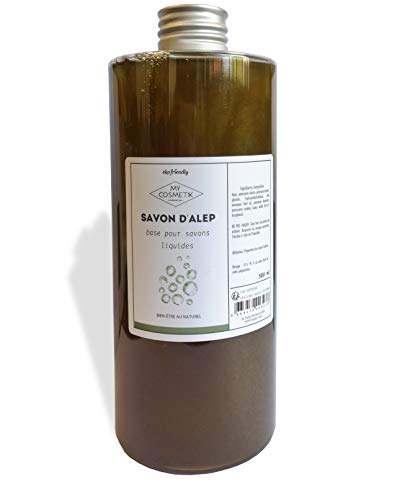Savon d'Alep liquide - MyCosmetik - 500 ml