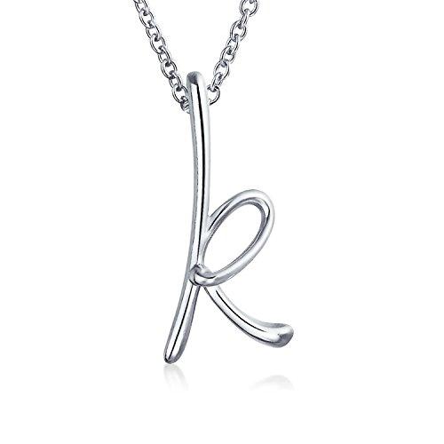 Bling Jewelry alphabet-K
