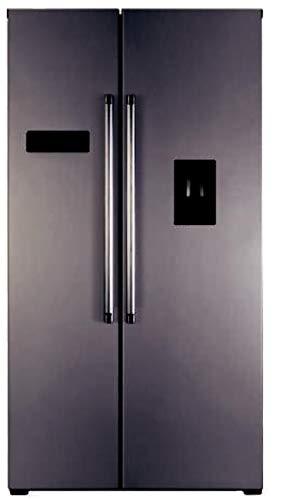 Jocel Side by side JSBS014207, frigorifero da 514 l, No Frost, 2 ante inox, classe A+