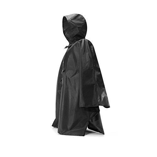 Pliable Reisenthel Mini Maxi poncho de pluie-Noir