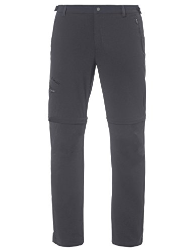 VAUDE Herren Men's Farley Stretch T-Zip Pants II Hose, Grau (Iron), 52
