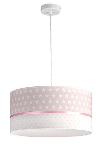 Kinder-Deckenleuchte / Hängelampe für Kinderzimmer. Rosa