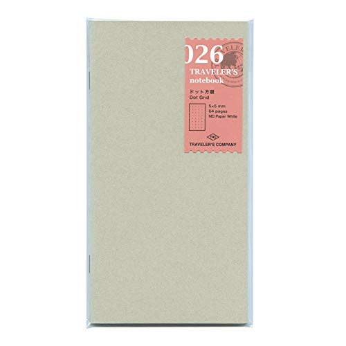 Dot Grid Notebook - Refill 026 per Traveler's Notebook Regular Size