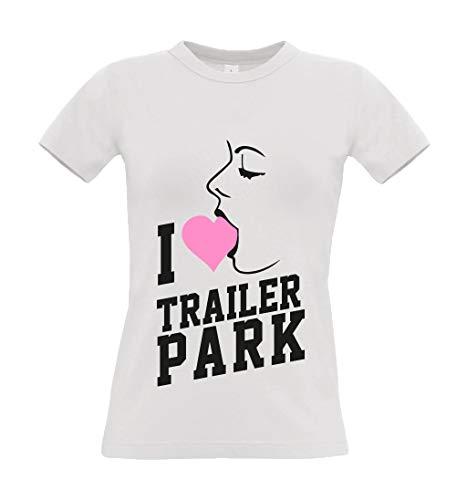 Trailerpark Top I Blow, Farbe:Weiss, Größe:S