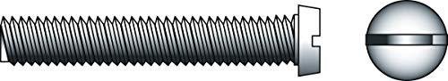 Générique - Vis metaux tete cylindrique empreinte fente, plate ou fendue - Ø mm.6 - Long. mm.60 - Cond..200 -
