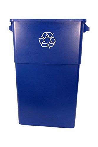 Genuine Joe GJO57258 Recycling Rectangular Container, 28 gallon Capacity, 22-1/2