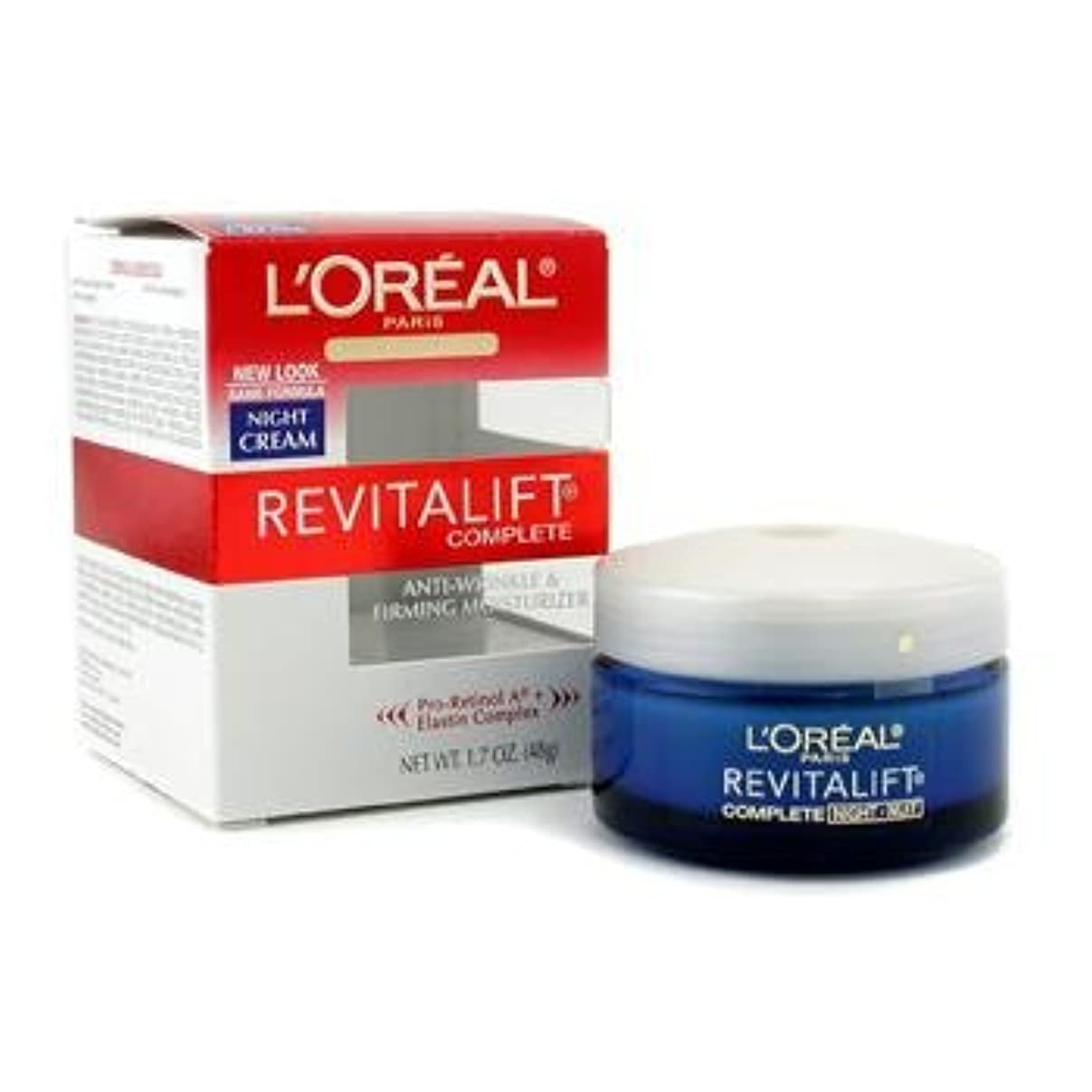 カジュアル中世の枯れる[LOreal] Skin Expertise RevitaLift Complete Night Cream 48g/1.7oz
