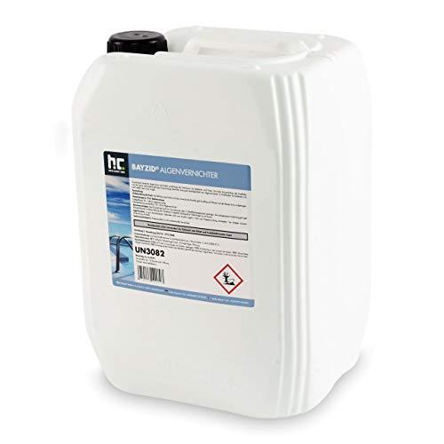 Höfer Chemie 20 L Pool Algenvernichter - Präventives Anti Algenmittel für Schwimmbad & Pool - gegen bei Algen