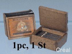 Unbekannt Creal 71010 Boîte de Caisse Cigares 1:12 pour Maison de Poupée