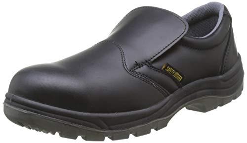 Stahlkappe Sicherheitsclog  - Safety Jogger X0600, EU 43 Schwarz, Sicherheitsschuh für Herren oder Damen, ideal für die Küche, das Gesundheitswesen oder die Lebensmittelindustrie