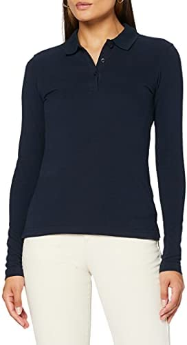 Clique Classic Long Sleeved Womens Marion Polo Camisa Mujer