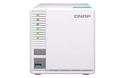 QNAP TS-328 Ethernet Torre Blanco NAS - Unidad Raid (9 TB, Unidad...
