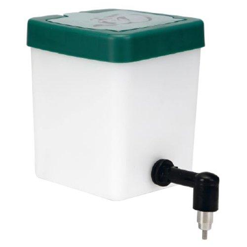Beeztees 800210 Plastiktrinkflasche für Nager, 0.5 L, weiß / grün